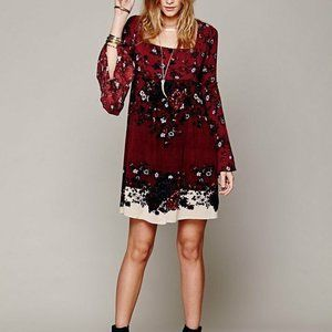 Free People Modern Chinoise Floral Mini Dress XS